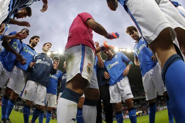 Fotografía extraída de la página oficial de Facebook del Real Oviedo