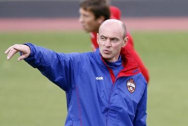 entrenador cska moscu